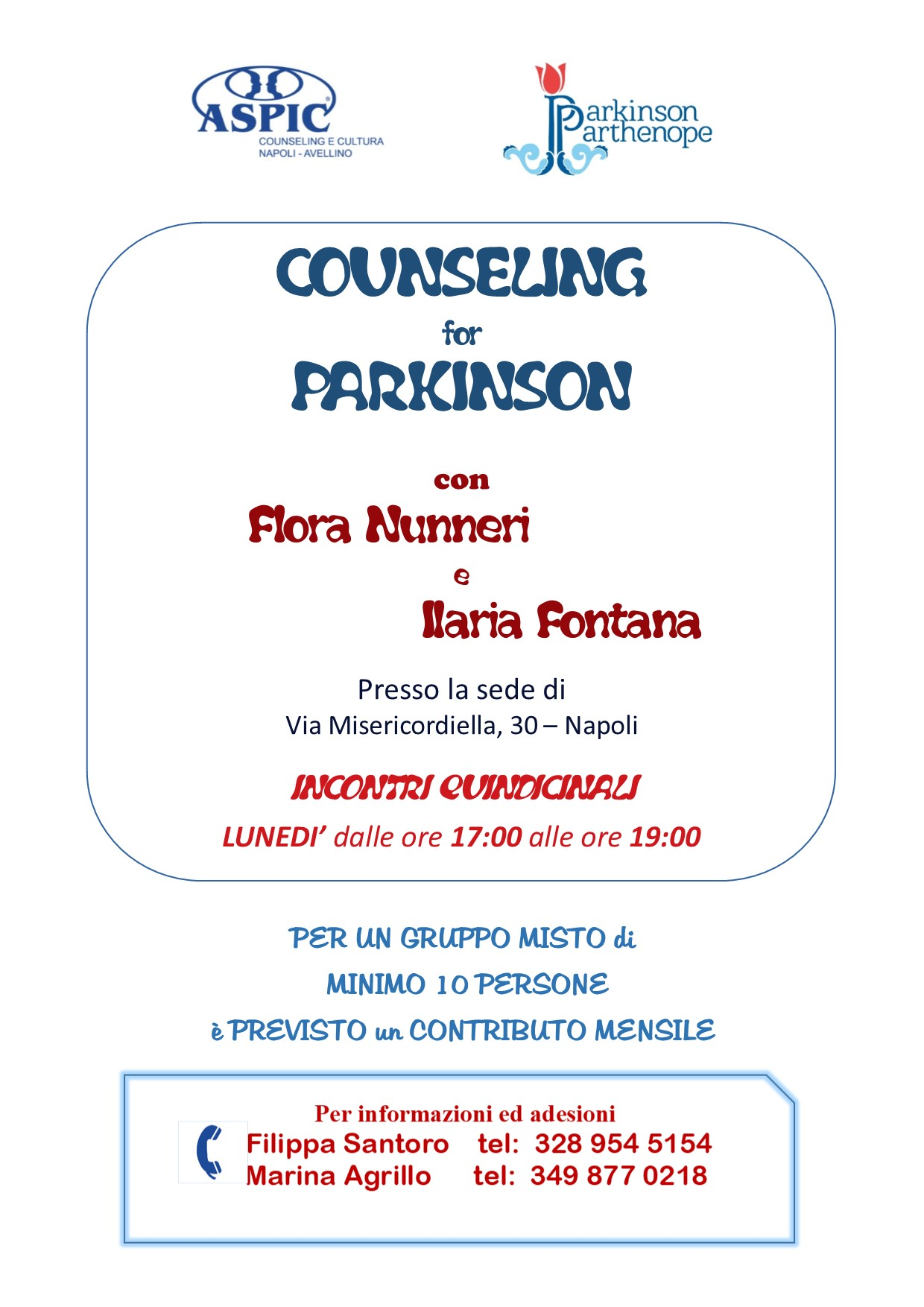 COUNSELING for PARKINSON